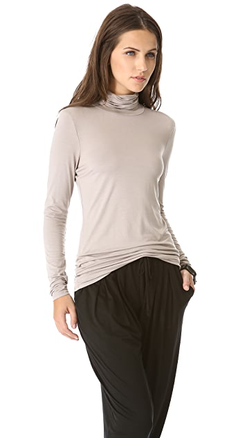 Three Dots Lightweight Viscose Turtleneck