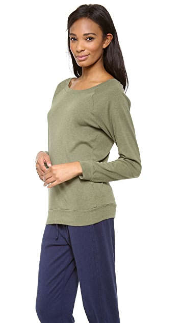 Three Dots Long Sleeve Sweatshirt