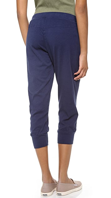 Three Dots Drawstring Capri Pants