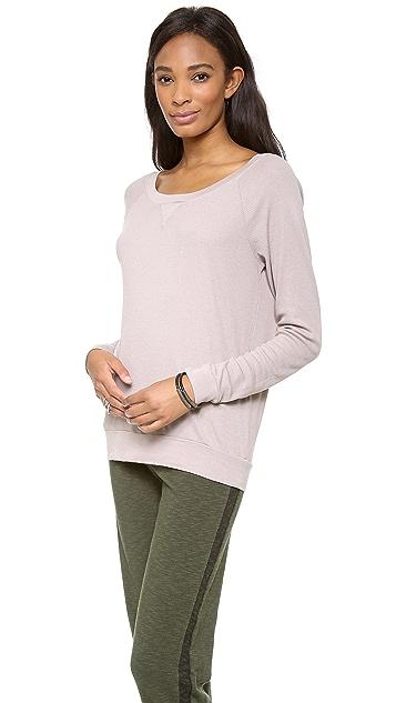 Three Dots Thermal Sweatshirt