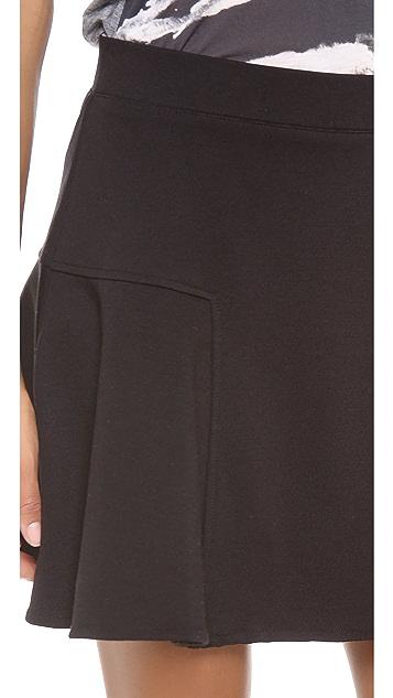 Three Dots Trumpet Miniskirt