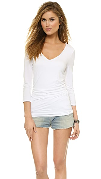 Three Dots Double Layer Top
