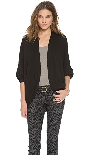Three Dots Cocoon Cardigan