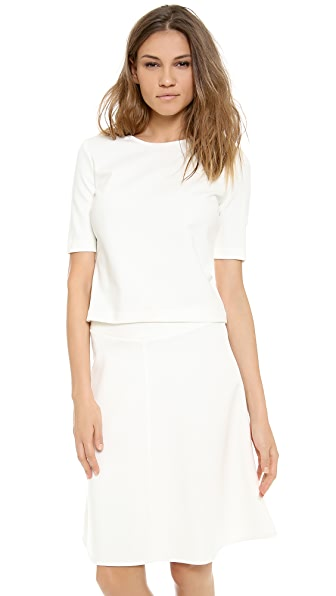 Three Dots Structured Ponte Top