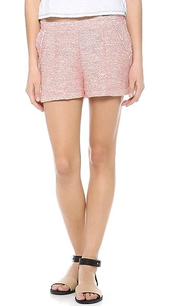 Three Dots Nautical Boucle Shorts