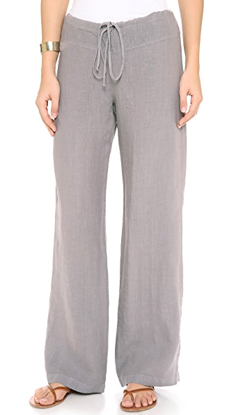 Three Dots Wide Leg Drawstring Pants | SHOPBOP SAVE UP TO 25% Use ...