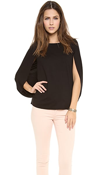 Three Dots Blouson Top