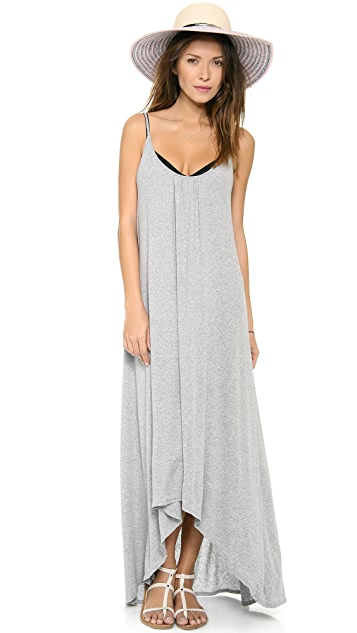 Three Dots Spaghetti Strap Maxi Dress