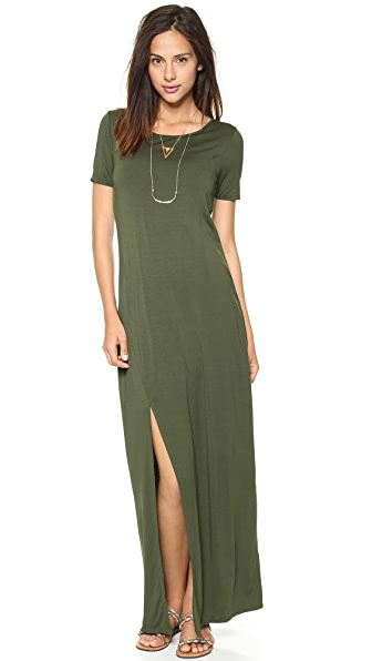 Three Dots Maxi Tee Dress  SHOPBOP