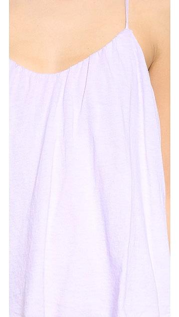 Three Dots Layered Maxi Dress