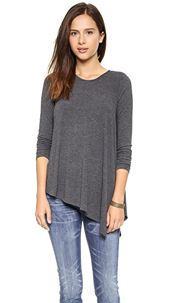 Three Dots Asymmetrical Tee