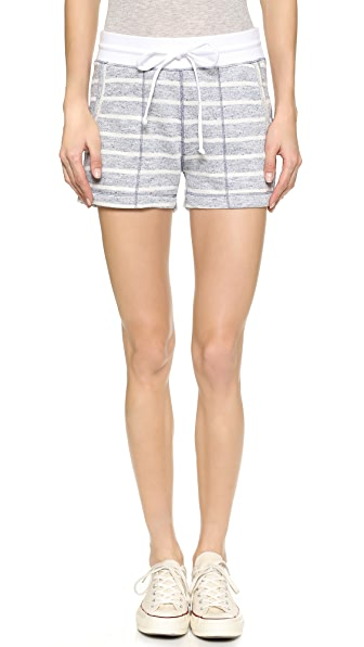 Three Dots Montauk Stripe Shorts