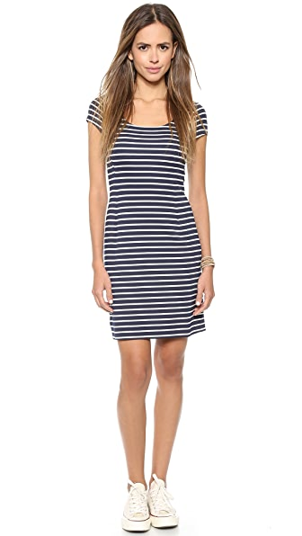 Three Dots Nautical Stripe Dress