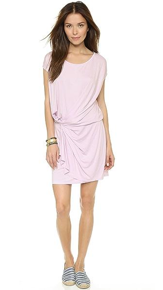 Kupi Three Dots online i prodaja Three Dots Twist Front Dress Pink Spritz haljinu online