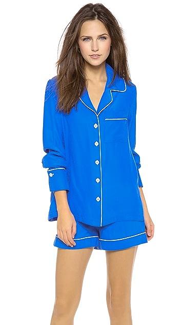Three J NYC Jane Pajama Shorty Set