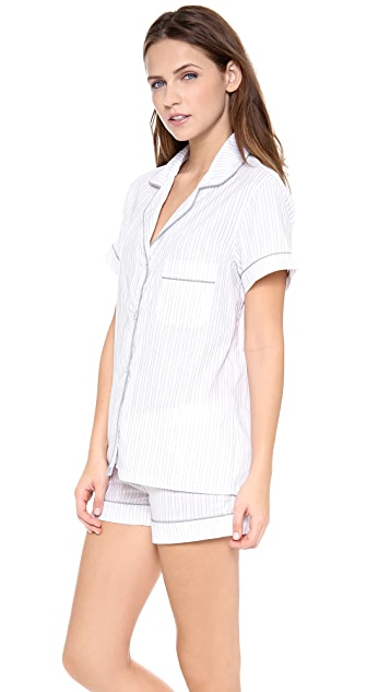 Three J NYC Eloise Short PJ Set