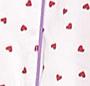 Red Hearts/Purple Trim