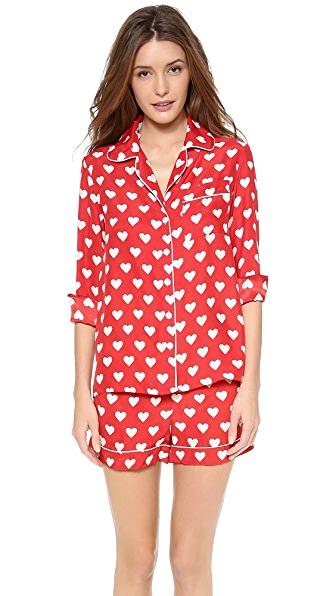 Three J NYC Jane Heart PJs
