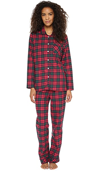 Three J NYC Jamie Flannel Pajama Set