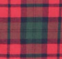 Red/Green Plaid White Trim