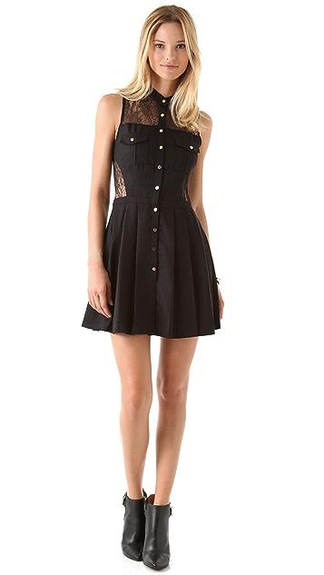 Three Floor Catch Mini Dress