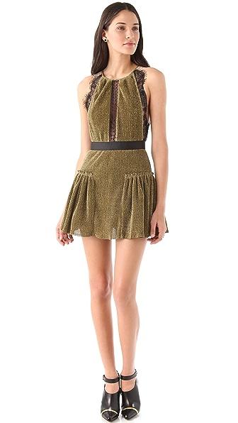 Three Floor Gold Dust Dress