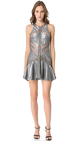 Three Floor Shine On Sequin Dress