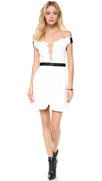 Three Floor White Out Dress