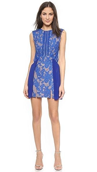 Three Floor True Blue Dress