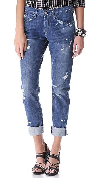 3x1 Destroyed Boyfriend Jeans