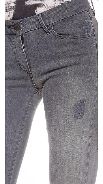 3x1 W2 Mid Rise Skinny Jeans