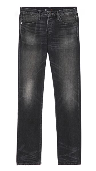 3x1 Eldridge Distressed Tinted Jeans