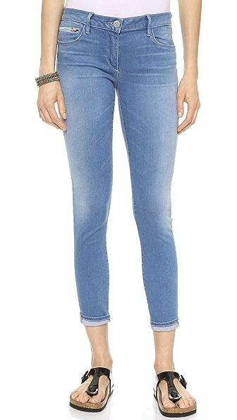3x1 Ocean Mid Rise Zip Pocket Skinny Jeans