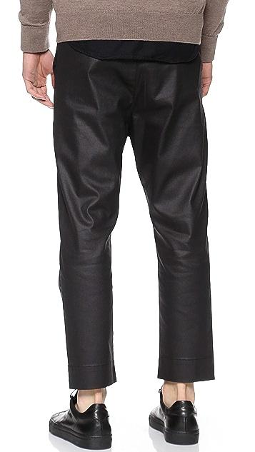 3x1 Drop Crotch Pants