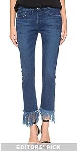 WM3 Crop Selvedge Jeans 3x1