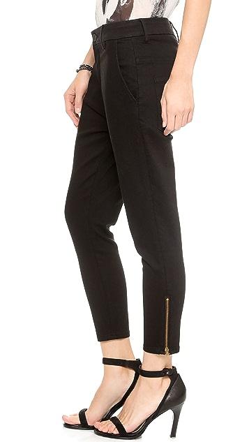 THVM Night Rinse Zip Skinny Jeans