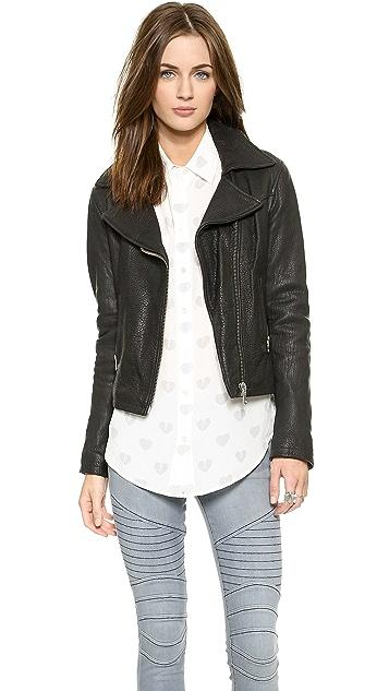 THVM Behati Moto Leather Jacket