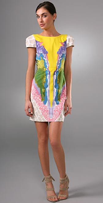 Tibi Calla Lily Dress