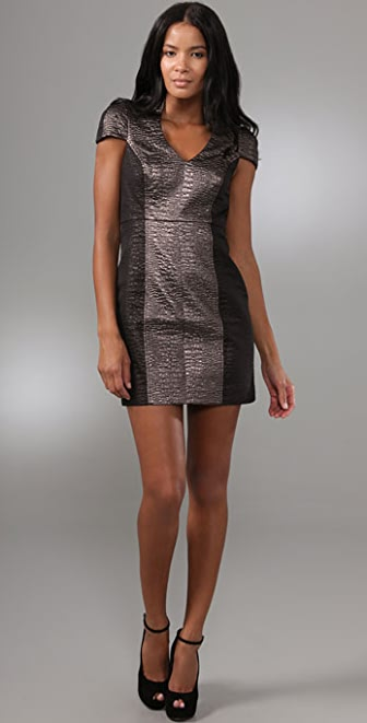 Tibi Bond St. Sculpted Dress