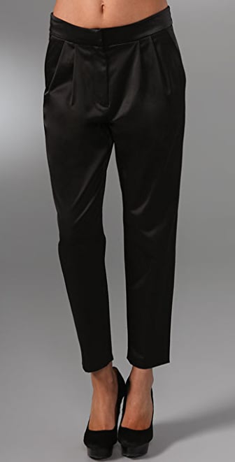Tibi Skinny Ankle Pants