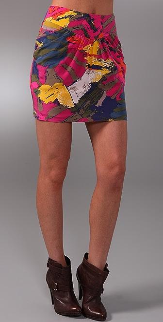 Tibi Sergenti Skirt