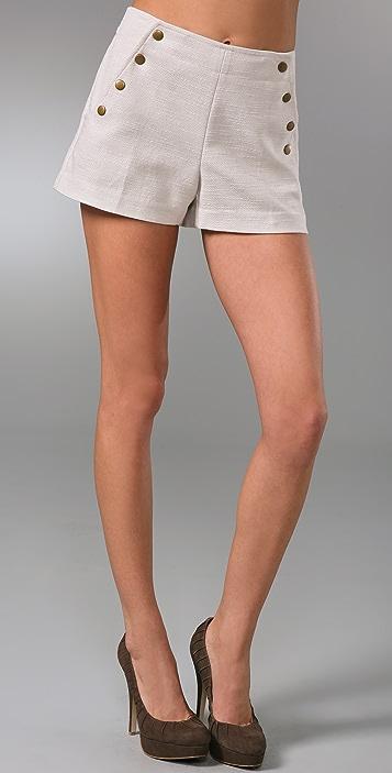 Tibi Juma Shorts