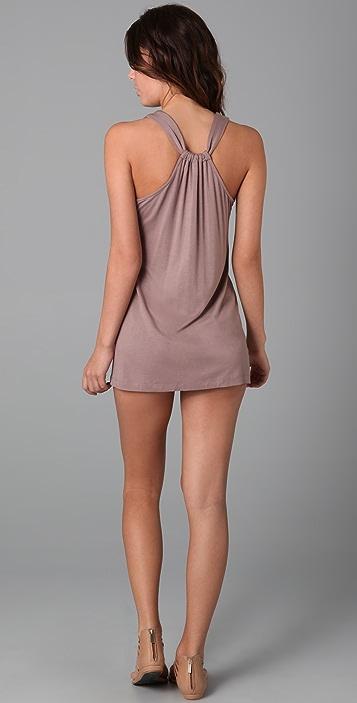 Tibi Eyelet Tank Cover Up Dress