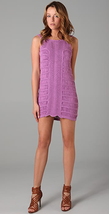 Tibi Crochet Dress