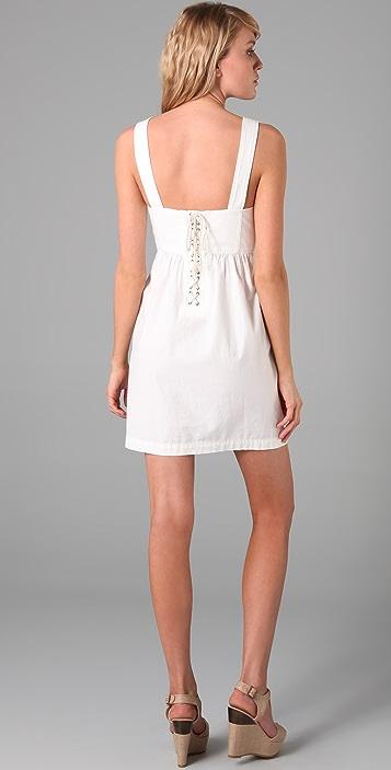 Tibi Cotton Tank Dress