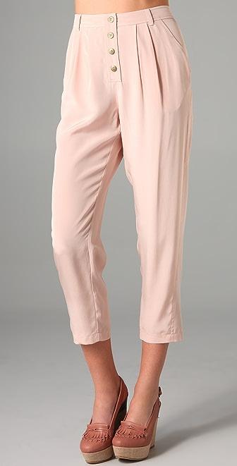 Tibi Silk Pants