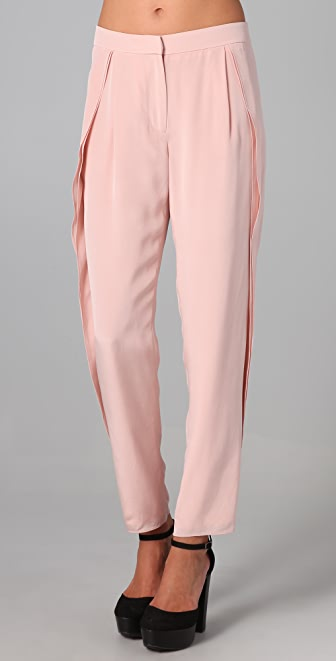 Tibi Ruffle Pants