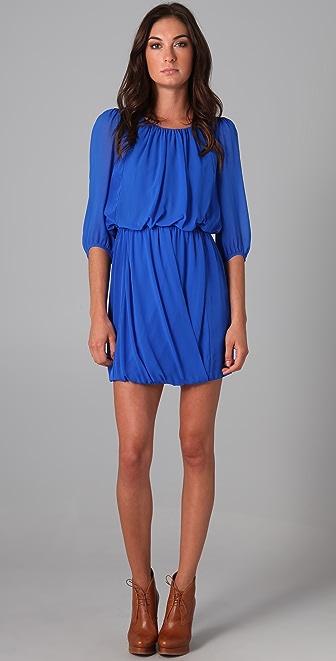 Tibi Draped Dress