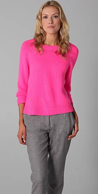 Tibi Crew Neck Sweater