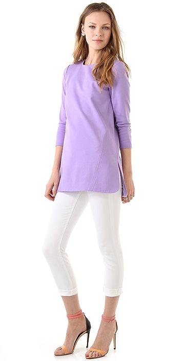 Tibi Long Sleeve Tunic
